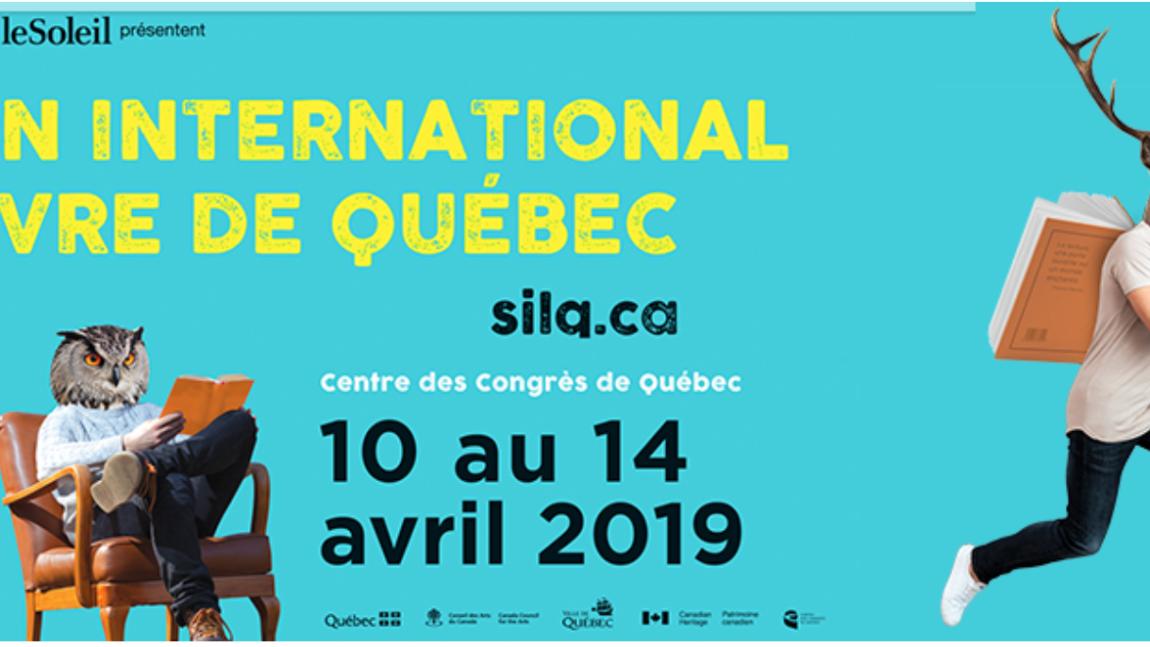 Salon International du Livre de Québec 2019