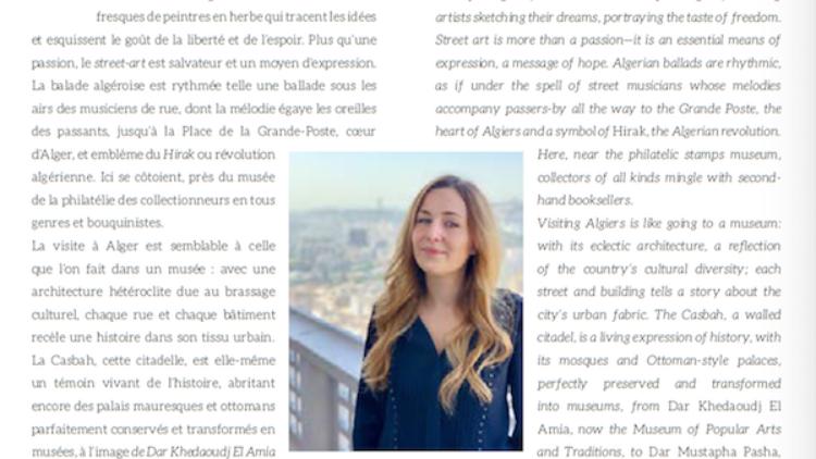 Contribution d'AlBayazin pour le magazine de bord d'Aigle Azur