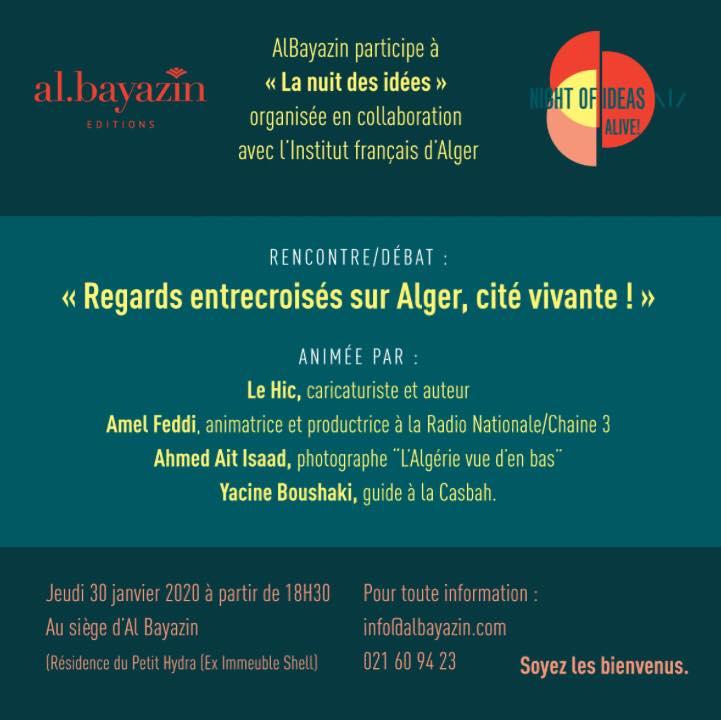 Al bayazinparticipe à «La nuit des idées»