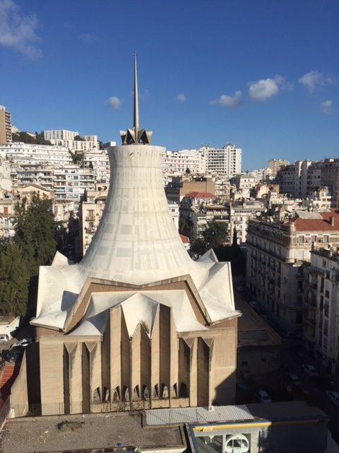 La Cathédrale du sacré coeur- d'Alger.